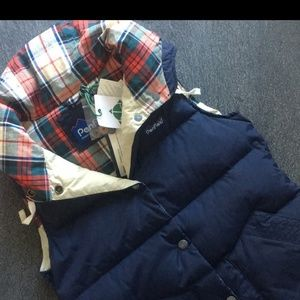 Penfield Navy Vest